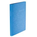 Папка с 20 файлами Buromax Barocco, А4, голубой (BM.3607-14)