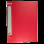 Папка с 30 файлами Buromax Jobmax, А4, красный (BM.3611-05)