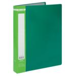 Папка с 40 файлами Buromax Jobmax, А4, зеленый (BM.3616-04)