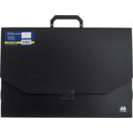Портфель пластиковий Buromax Professional, А3, 32 мм, черный (BM.3725-01)