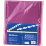 Файлы для документов фиолетовые Buromax, А4, глянцевый, 40 мкн, 100 шт (BM.3810-07)