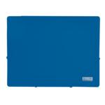 Папка пластиковая на резинках Buromax Jobmax, А4, синий (BM.3911-02)