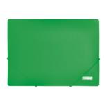 Папка пластиковая на резинках Buromax Jobmax, А4, зеленый (BM.3911-04)