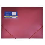 Папка пластиковая на резинках Buromax, А4, красный (BM.3913-05)