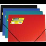 Папка пластиковая на резинках Buromax, А4, ассорти (BM.3913-99)