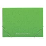 Папка пластиковая на резинках Buromax Barocco, А4, салатовый (BM.3914-15)