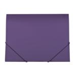 Папка пластиковая на резинках Buromax Gloss, А4, фиолетовый (BM.3915-07)