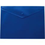 Папка-конверт на кнопке Buromax, A4, синий (BM.3925-02)