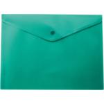 Папка-конверт на кнопке Buromax, A4, зеленый (BM.3925-04)