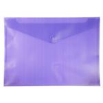 Папка-конверт на кнопке Buromax, A4, фиолетовый (BM.3925-07)