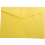 Папка-конверт на кнопке Buromax, A4, желтый (BM.3925-08)