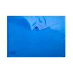 Папка-конверт на кнопке Buromax, A4, синий (BM.3926-02)