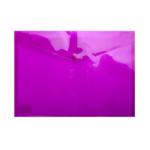 Папка-конверт на кнопке Buromax, A4, фиолетовый (BM.3926-07)
