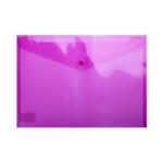 Папка-конверт на кнопке Buromax, A4, розовый (BM.3926-10)