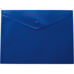 Папка-конверт на кнопке Buromax, A5, синий (BM.3935-02)