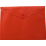 Папка-конверт на кнопке Buromax, A5, красный (BM.3935-05)