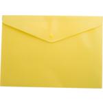 Папка-конверт на кнопке Buromax, A5, желтый (BM.3935-08)
