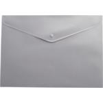 Папка-конверт на кнопке Buromax, A5, серый (BM.3935-09)