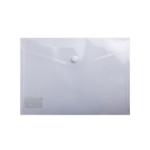 Папка-конверт на кнопке Buromax, A5, прозрачный (BM.3936-00)