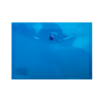 Папка-конверт на кнопке Buromax, A5, синий (BM.3936-02)
