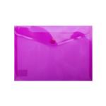 Папка-конверт на кнопке Buromax, A5, фиолетовый (BM.3936-07)