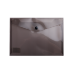 Папка-конверт на кнопке Buromax, A5, серый (BM.3936-09)