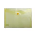 Папка-конверт на кнопке Buromax, A5, желтый (BM.3936-11)