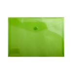 Папка-конверт на кнопке Buromax, A5, бирюзовый (BM.3936-15)