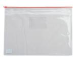 Папка-конверт на молнии Buromax, А4, пластик, красный (BM.3946-05)