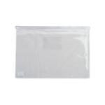 Папка-конверт на молнии Buromax, А4, пластик, белый (BM.3946-12)