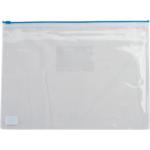 Папка-конверт на молнии Buromax, А5, пластик, синий (BM.3947-02)
