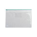 Папка-конверт на молнии Buromax, А5, пластик, зеленый (BM.3947-04)