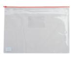 Папка-конверт на молнии Buromax, А5, пластик, красный (BM.3947-05)