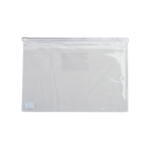Папка-конверт на молнии Buromax, А5, пластик, белый (BM.3947-12)