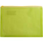 Папка-конверт на молнии Buromax, А4, пластик, желтый (BM.3951-08)