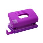 Дырокол Buromax пластиковый RUBBER TOUCH, 10л., фиолетовый (BM.4016-07)