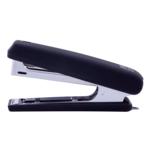Степлер Buromax Rubber Touch, скобы №10, 12 л, черный (BM.4128-01)