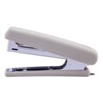 Степлер Buromax Rubber Touch, скобы №10, 12 л, серый (BM.4128-09)
