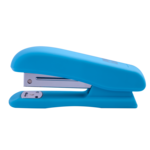 Степлер Buromax Rubber Touch, скобы №24/6, 20 л, голубой (BM.4202-14)