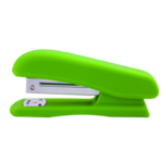 Степлер Buromax Rubber Touch, скобы №24/6, 20 л, светло-зеленый (BM.4202-15)