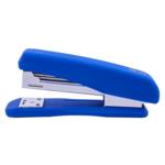 Степлер Buromax Rubber Touch, скобы №24/6, 20 л, синий (BM.4205-02)
