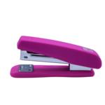 Степлер Buromax Rubber Touch, скобы №24/6, 20 л, розовый (BM.4205-10)