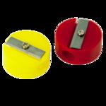 Точилка для карандашей Buromax, пластик, круглая  (BM.4700)