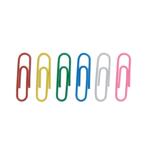 Скрепки цветные Buromax, круглые, 28 мм, 100 шт (BM.5015)