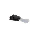 Клип для идентификатора Buromax, пластиковый, черный, 50 шт (BM.5420-01)