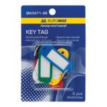 Брелоки для ключей Buromax, 6 шт, ассорти (BM.5471-99)