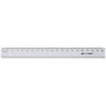 Линейка алюминиевая Buromax, 20 см, серебро (BM.5800-20)