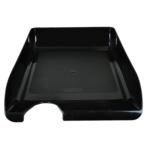 Лоток горизонтальный Buromax JobMax BM.6000-01, пластик, черный