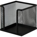 Бокс для бумаги металлический Buromax, черный (BM.6215-01)