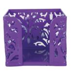 Бокс для бумаги металлический Buromax Barocco, фиолетовый (BM.6216-07)